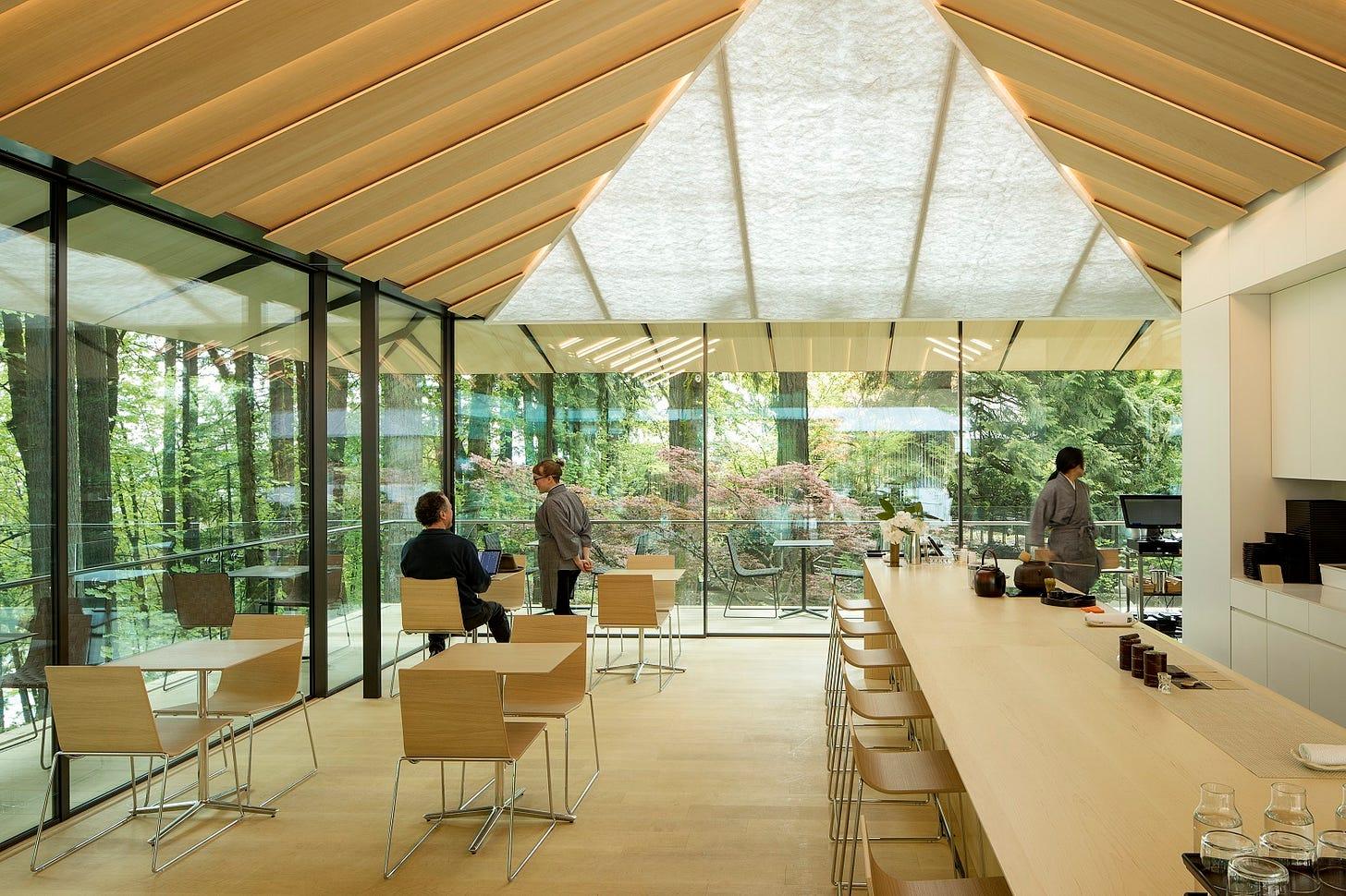 Umami Café - Portland Japanese Garden