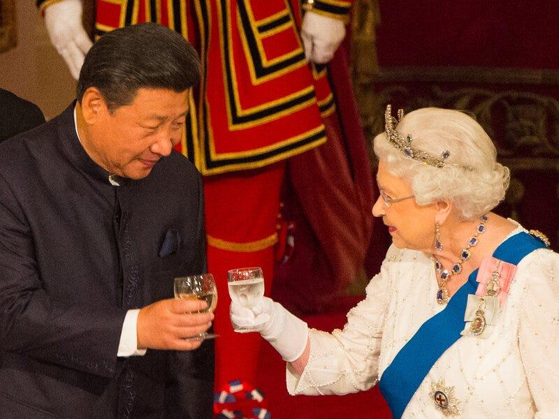 How The Coronavirus Has Strained U.K.-China Ties : NPR
