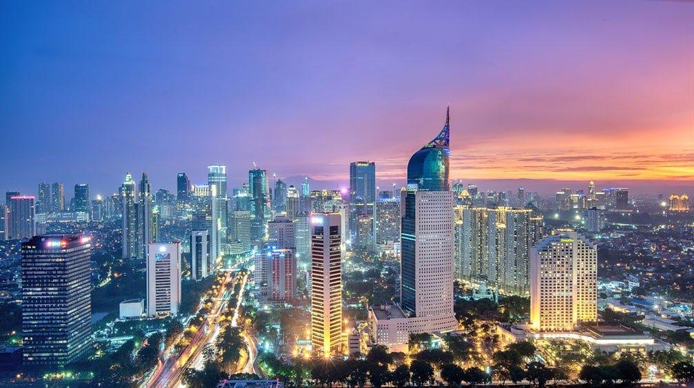 Jakarta-Skyline-from-Bund - Freme Travel