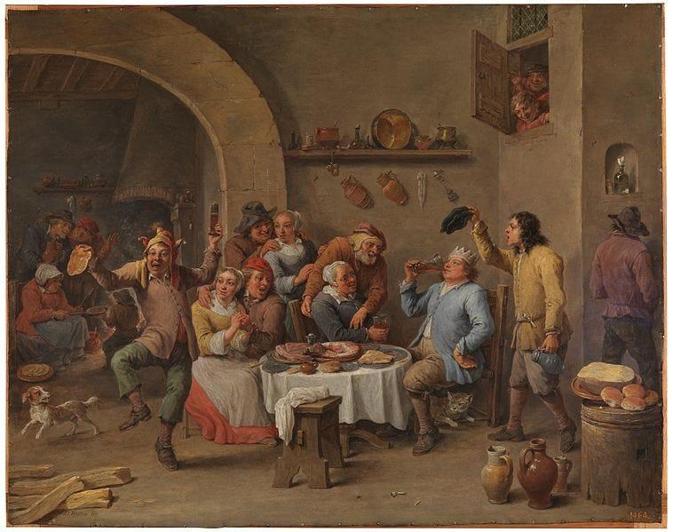 File:David Teniers (II) - Twelfth-night (The King Drinks) - WGA22083.jpg
