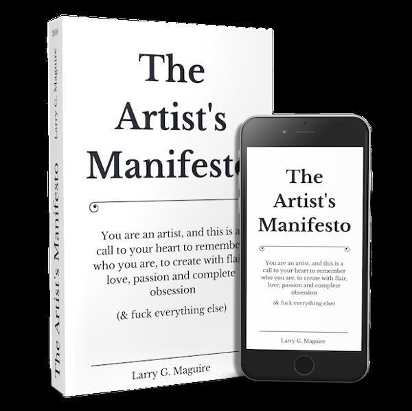 The Artist's Manifesto Short Form Version 4.0