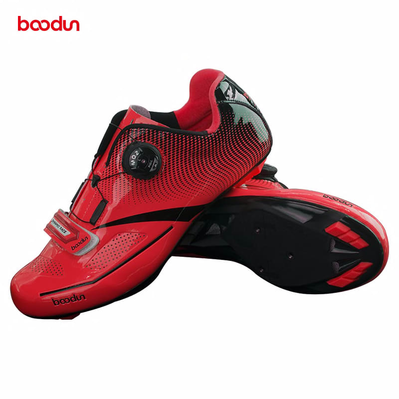 BOODUN Road Cycling Shoes men sneakers women Self-locking sapatilha ciclismo Breathable Ultralight Athletic Bike Racing Shoes