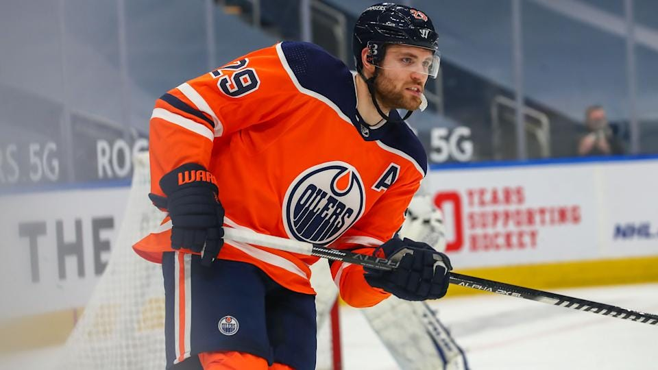 Draisaitl fed up with reporter's question after getting swept by Maple Leafs