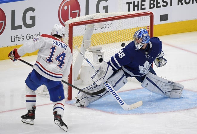 NHL scores: Maple Leafs fail to close out Canadiens in overtime loss