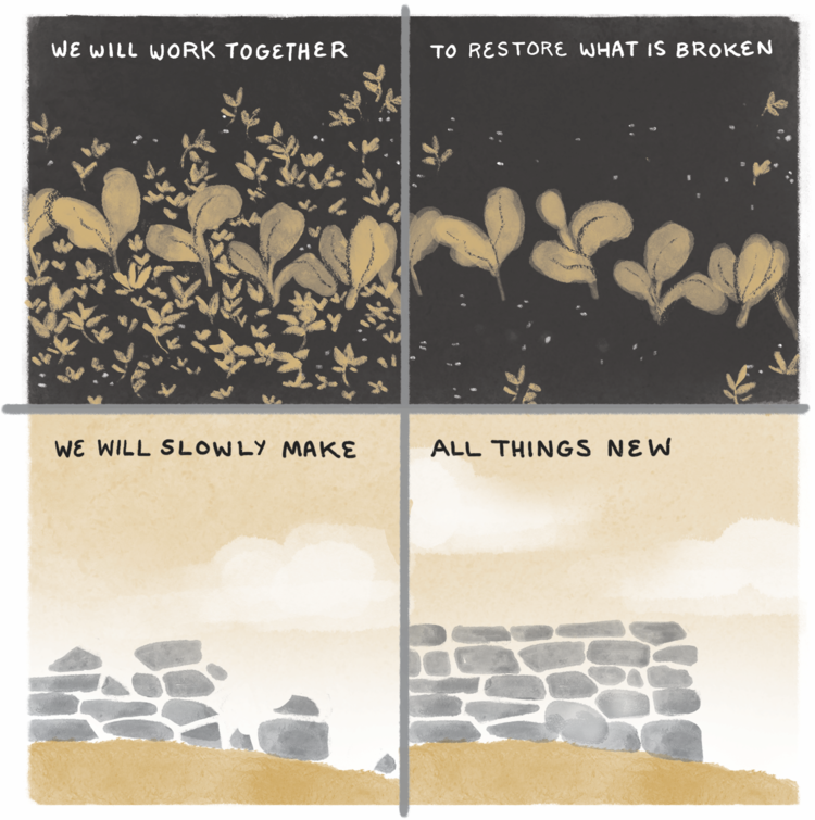 Illustration by  Madeleine Jubilee Saito