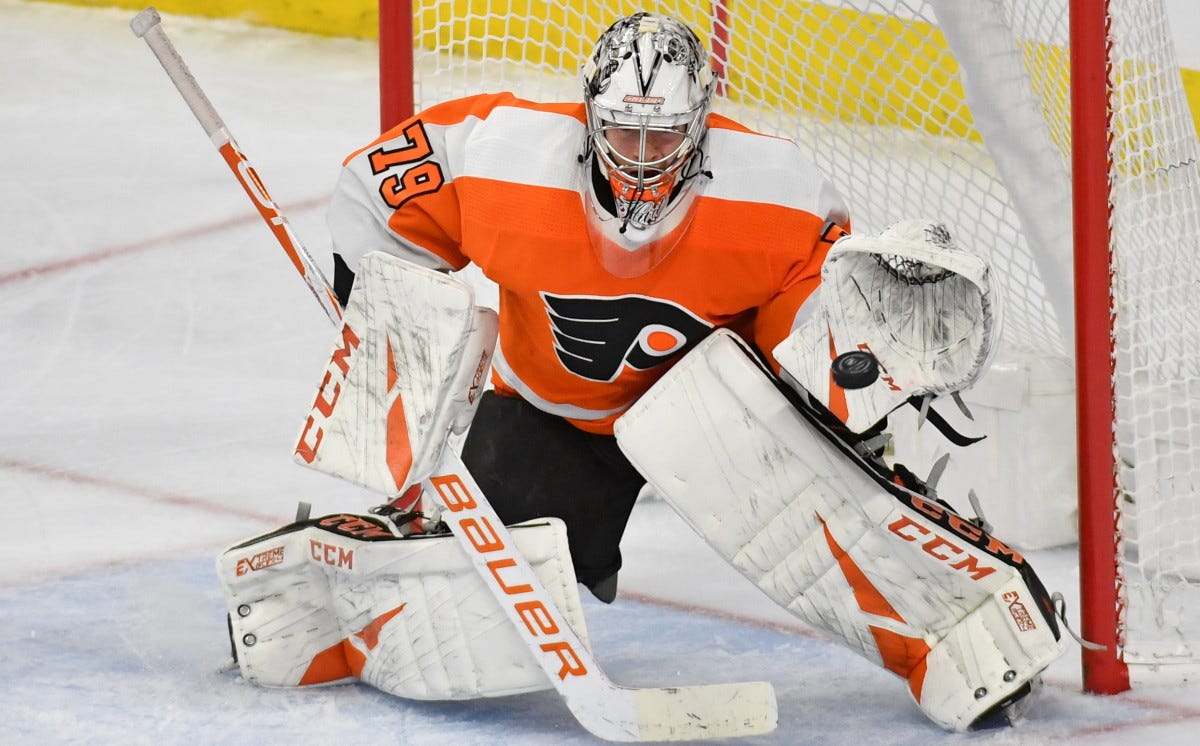 Carter Hart can bounce back with the best of 'em - The Hockey News on  Sports Illustrated