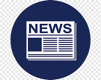 Computer Icons News media Newspaper, Physical Address Extension, blue,  text, label png | PNGWing