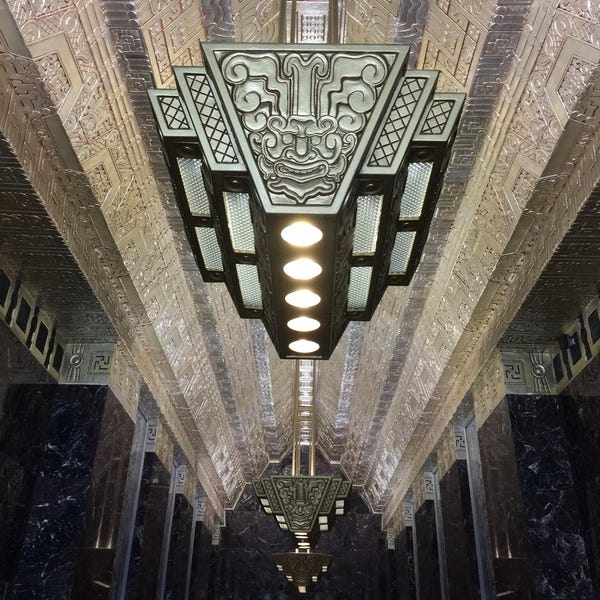 Found from a previous trip to San Francisco (seriously — how amazing is Art Deco?)