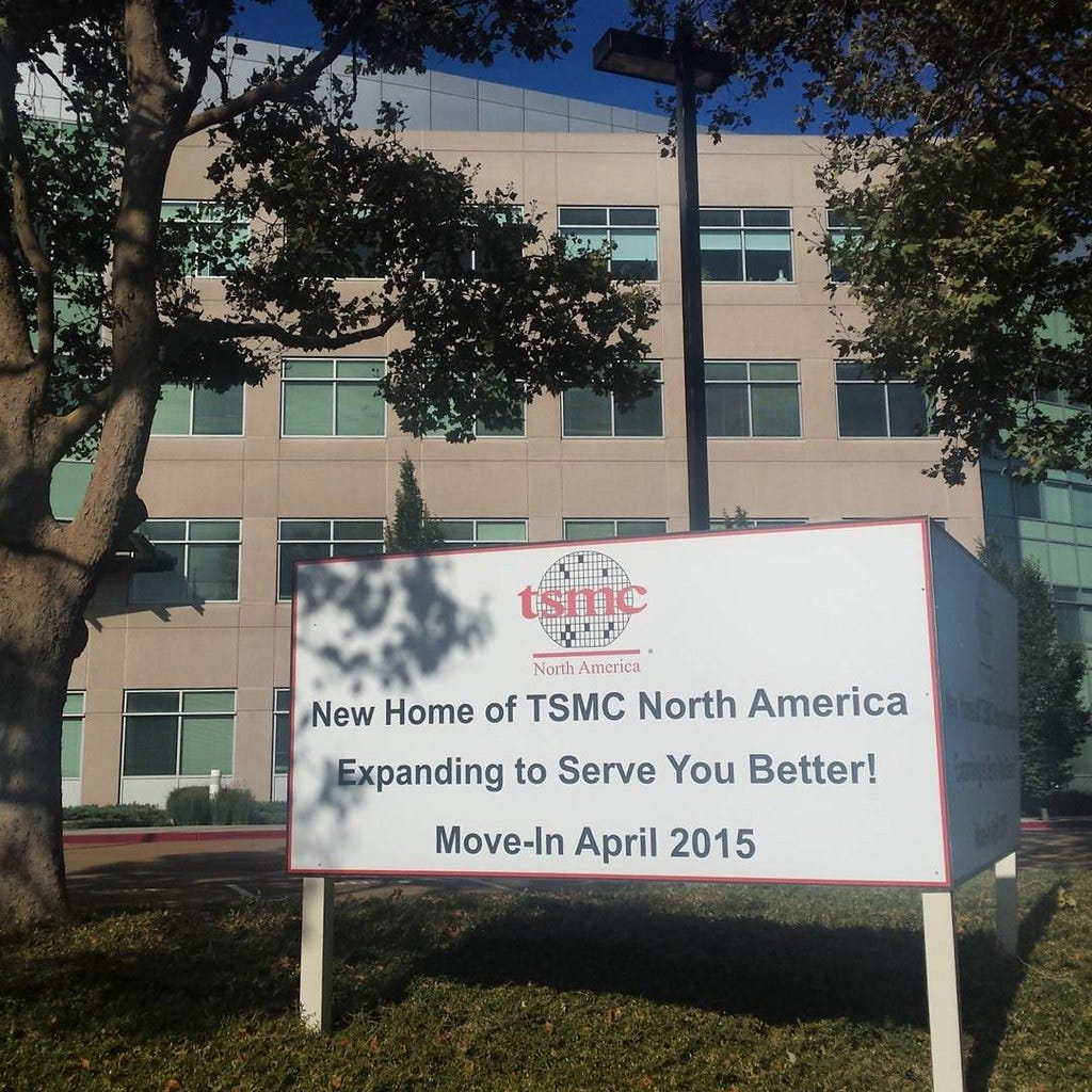 TSMC North America #sanjose