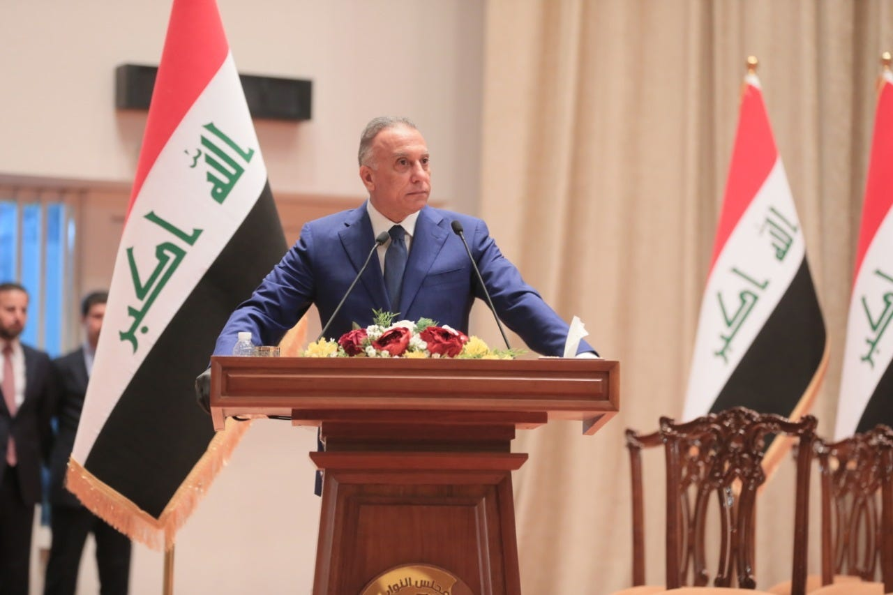 The U.S. Should Not Let Iraqi Prime Minister Kadhimi Fail Https%3A%2F%2Fbucketeer-e05bbc84-baa3-437e-9518-adb32be77984.s3.amazonaws.com%2Fpublic%2Fimages%2F9179d433-9cb0-480d-a114-9a0b715e183b_1280x853