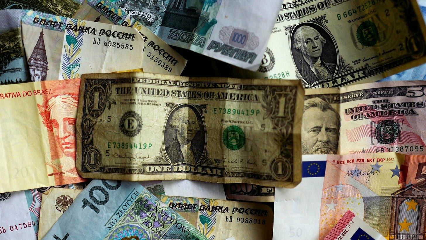 The US dollar's global-reserve currency status could be threatened ...