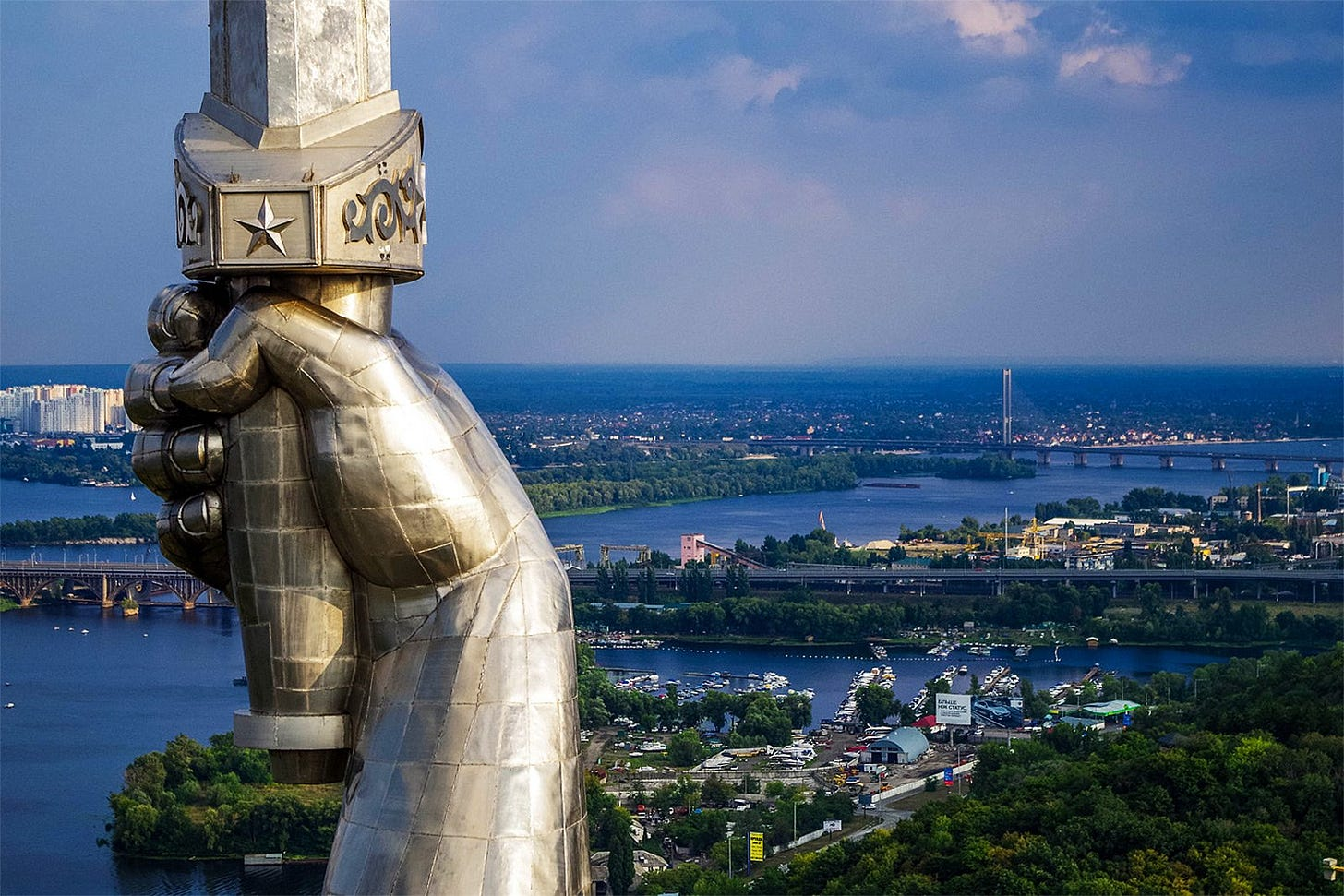 How to climb to the Mother Motherland in Kiev