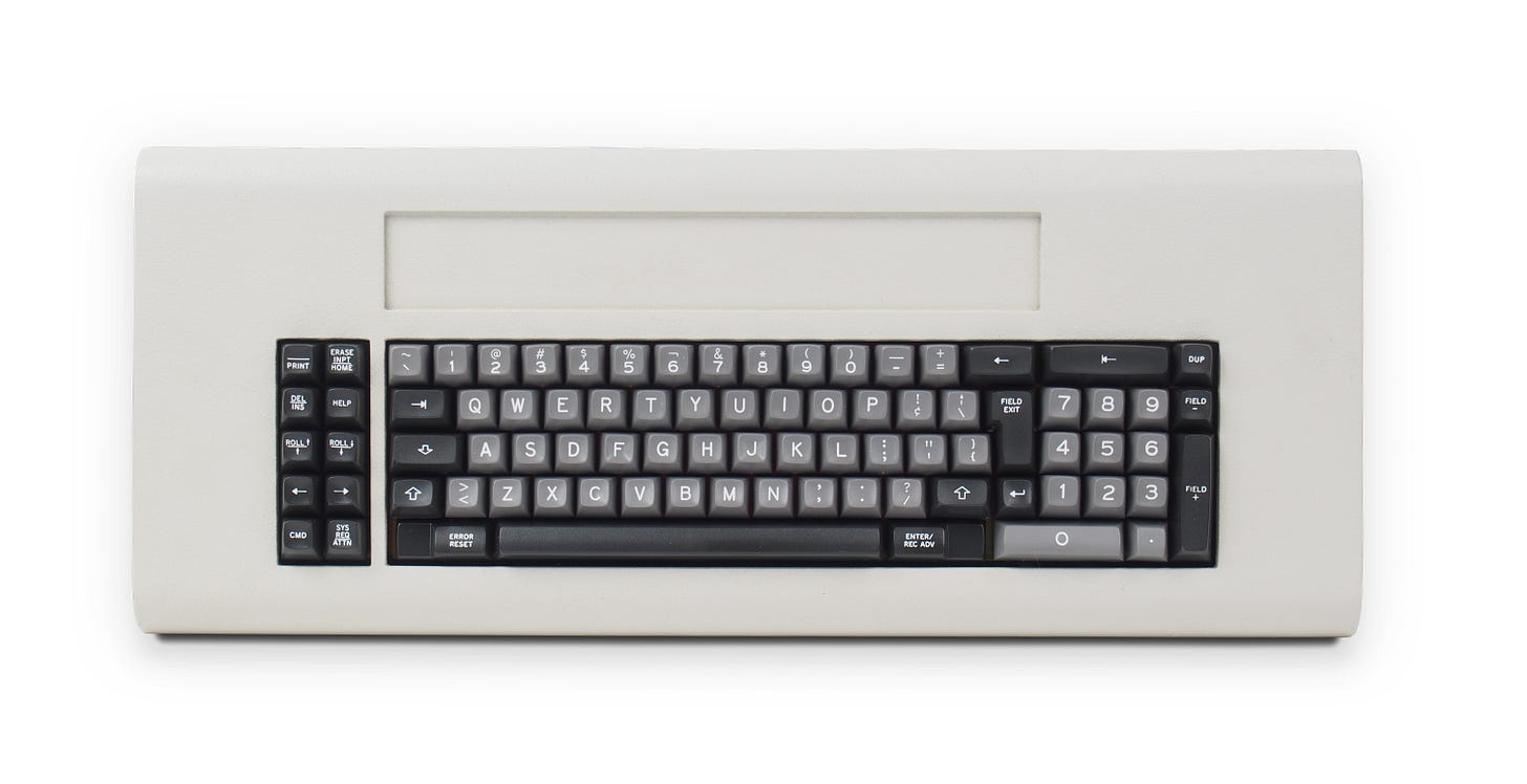 Teclado IBM System/34