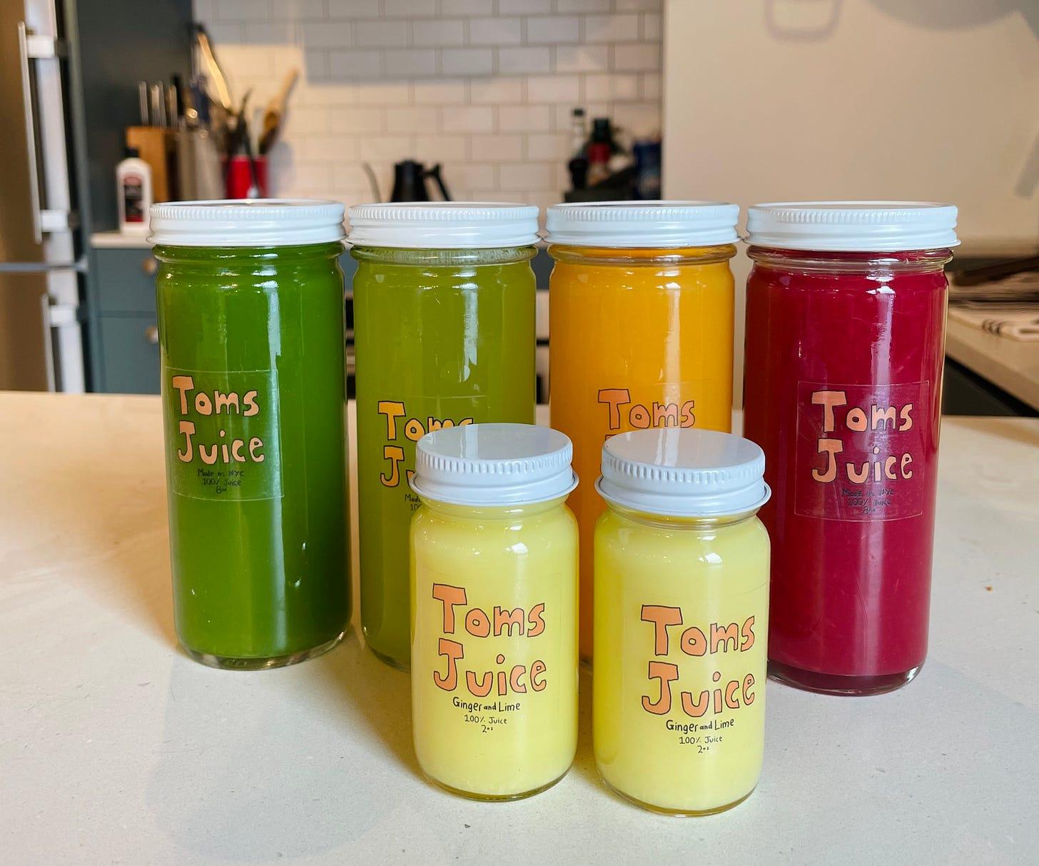 Toms Juice