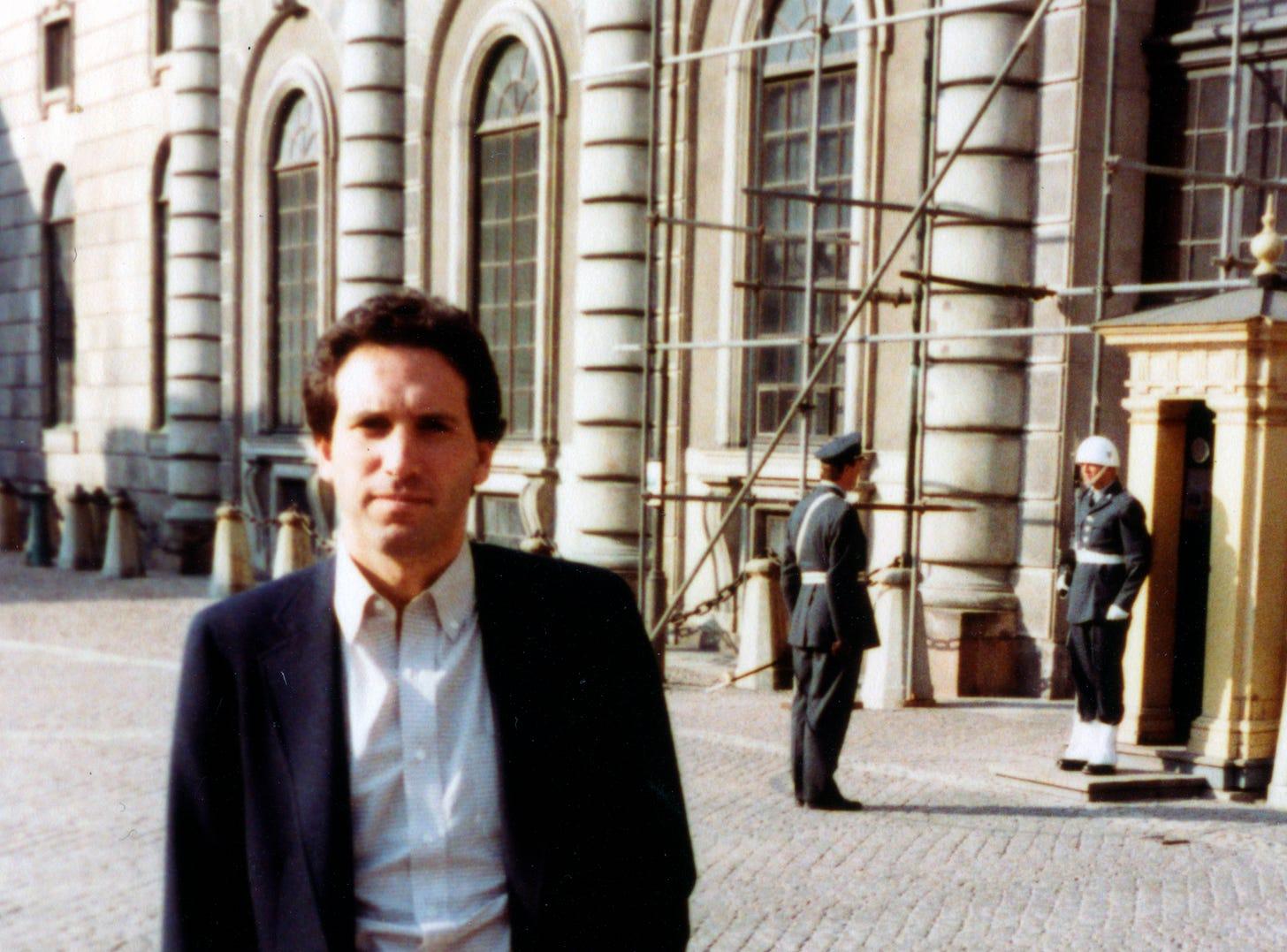 Howard Schultz in Italy, 1983