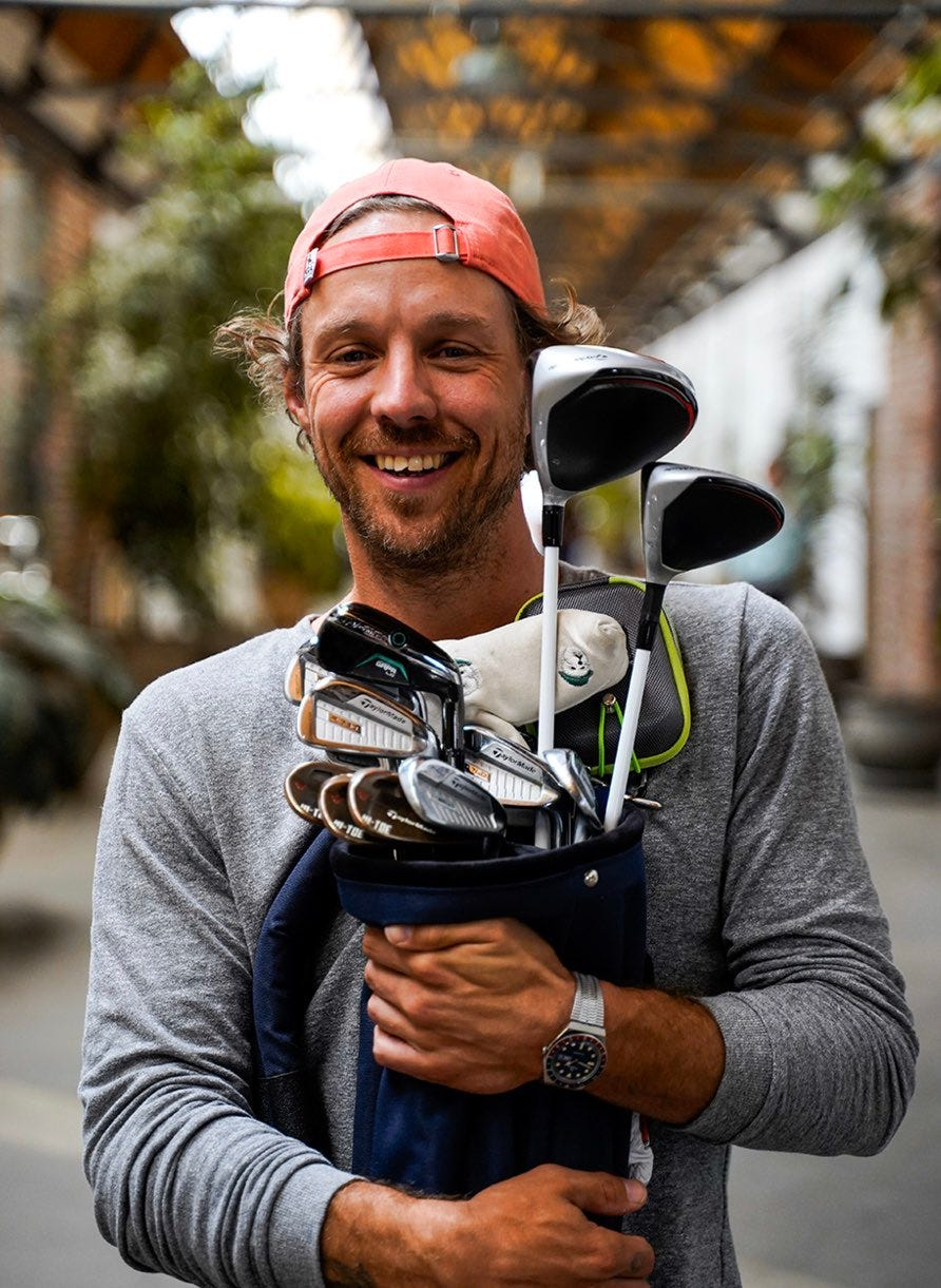 """Erik Anders Lang on Twitter: """"I'm giving away my entire golf bag ..."""