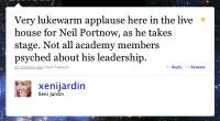 Xeni tweets about Portnow