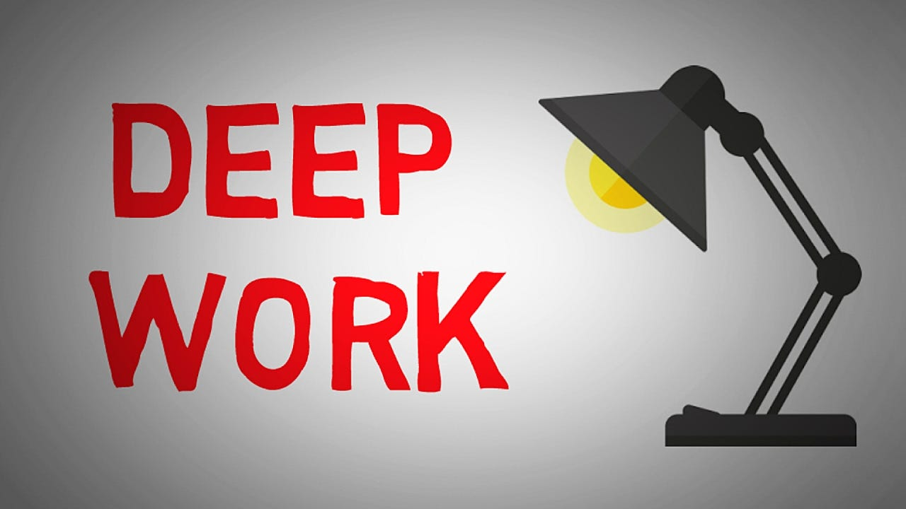Deep Work by Cal Newport (animated book summary) - How to ...