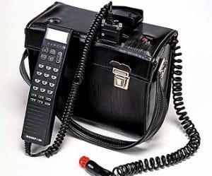 image of the Nokia Mobira Talkman mobile phone