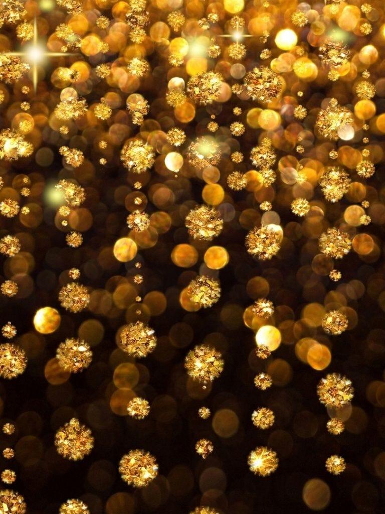 768x1024 Gold Rain Ipad mini wallpaper | Ipad mini wallpaper, Gold  wallpaper, Iphone wallpaper