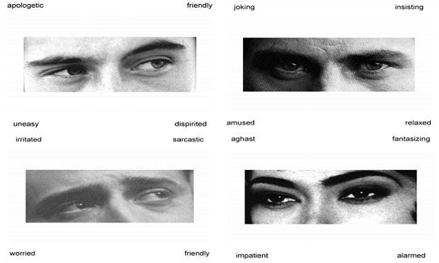 Image result for reading the mind in the eyes test