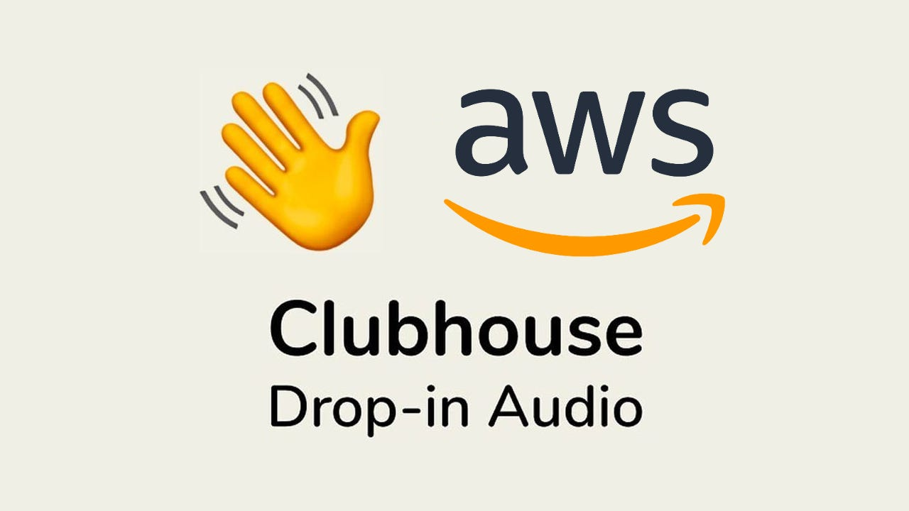 AWS Startups club on Clubhouse, the Audio Social app