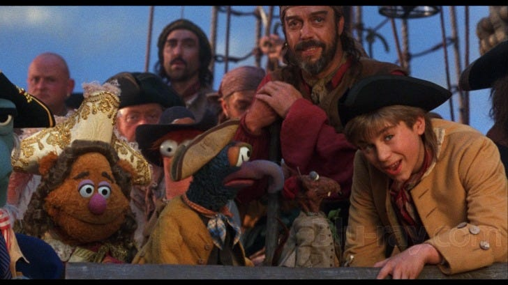 Image result for rizzo the rat muppet treasure island