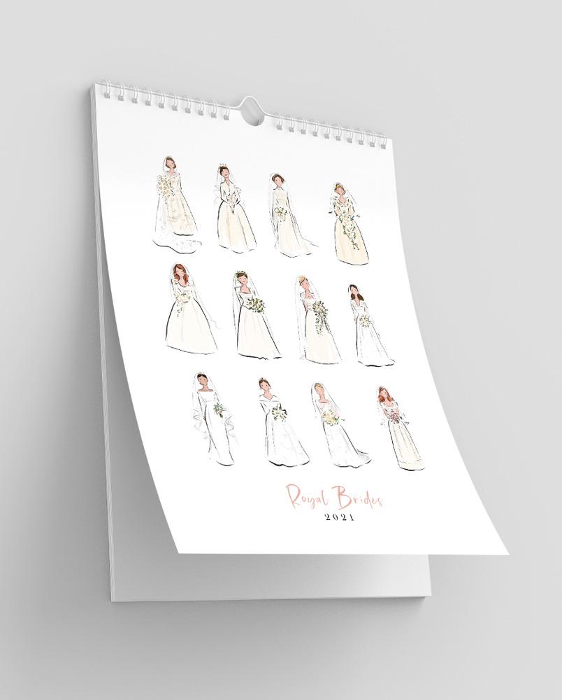 Image of Royal Brides Calendar