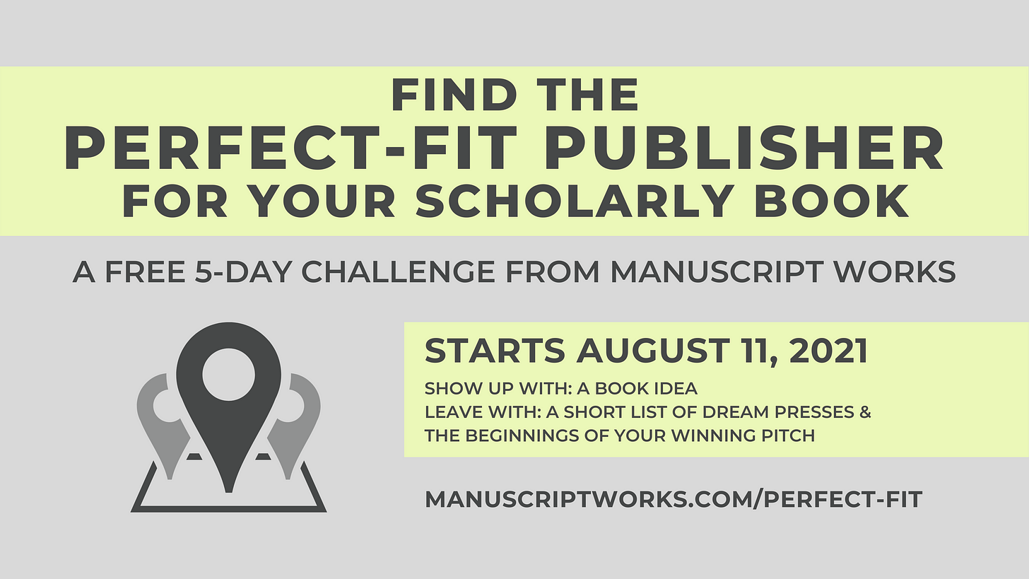 Find the Perfect-Fit Publisher for Your Scholarly Book