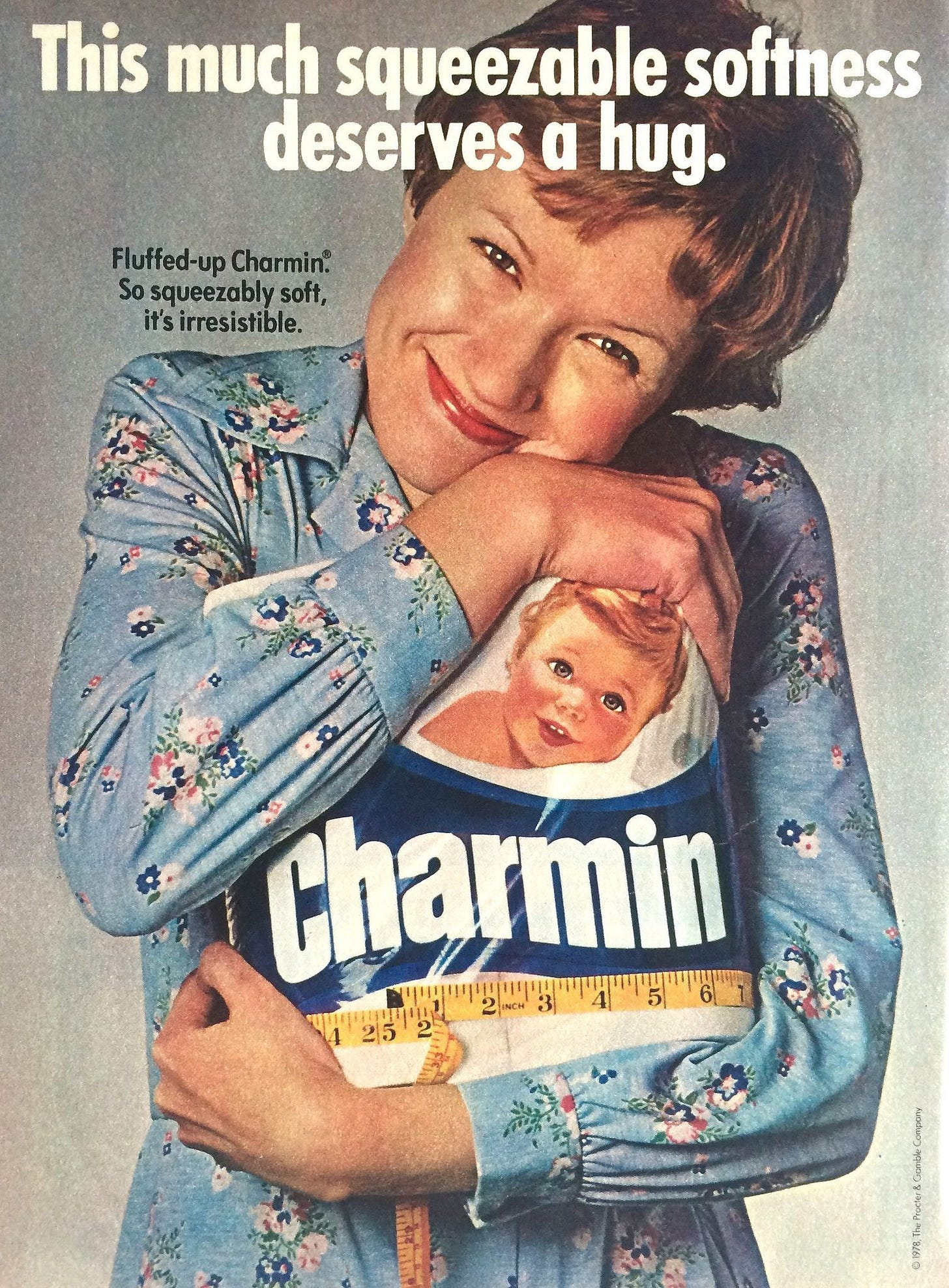 1970s: Charmin | Commercial advertisement, Vintage ads, Fun
