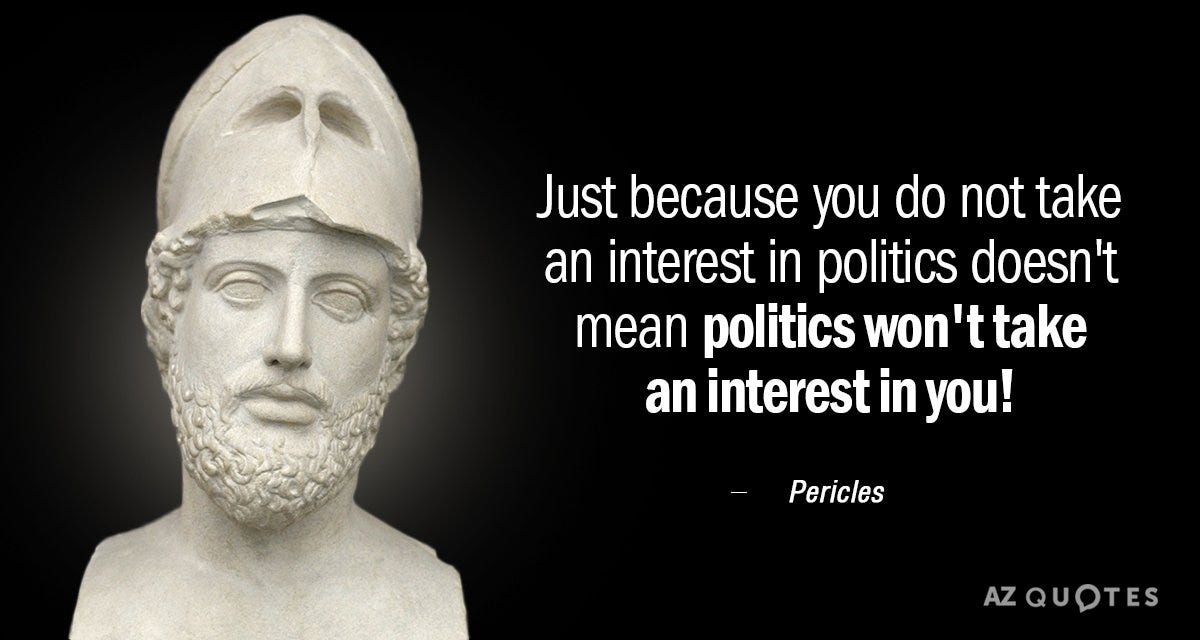 Image result for quote about politics