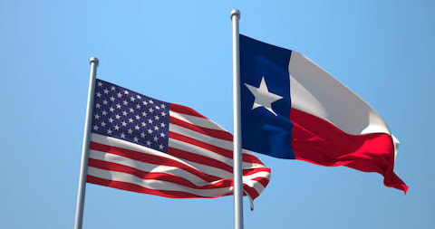 Usa and Texas Flag (various Stock Footage Video (100% Royalty-free) 6893944  | Shutterstock