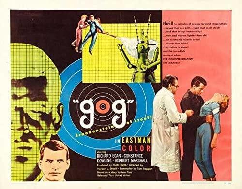 Amazon.com: Gog POSTER Movie (22 x 28 Inches - 56cm x 72cm) (1954 ...