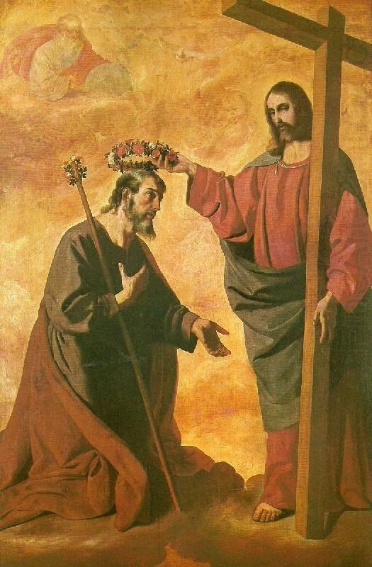 Image result for coronation of st joseph zurbaran
