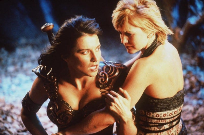 Xena & Grabrielle from Xena: Warrior Princess
