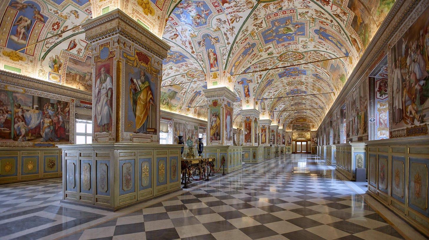 Viaggio nella Biblioteca Vaticana