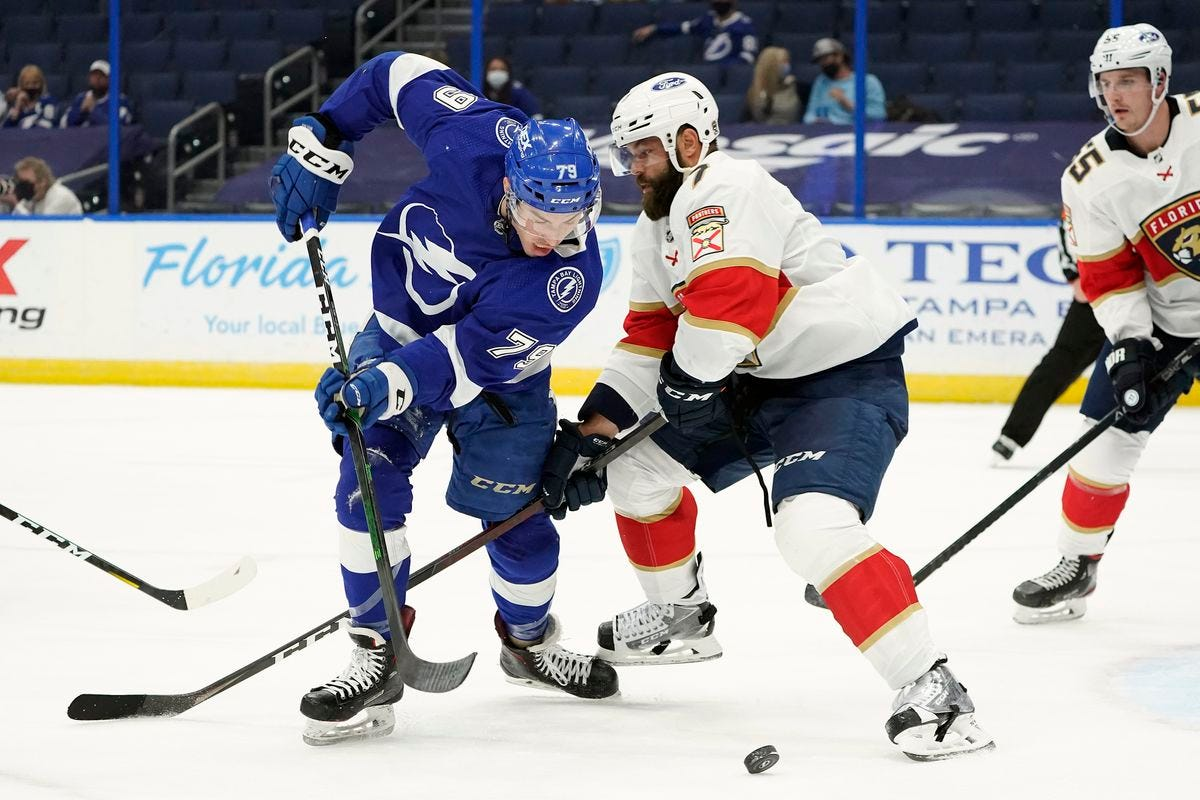 Panthers' two games vs. Lightning a playoff primer - South Florida  Sun-Sentinel