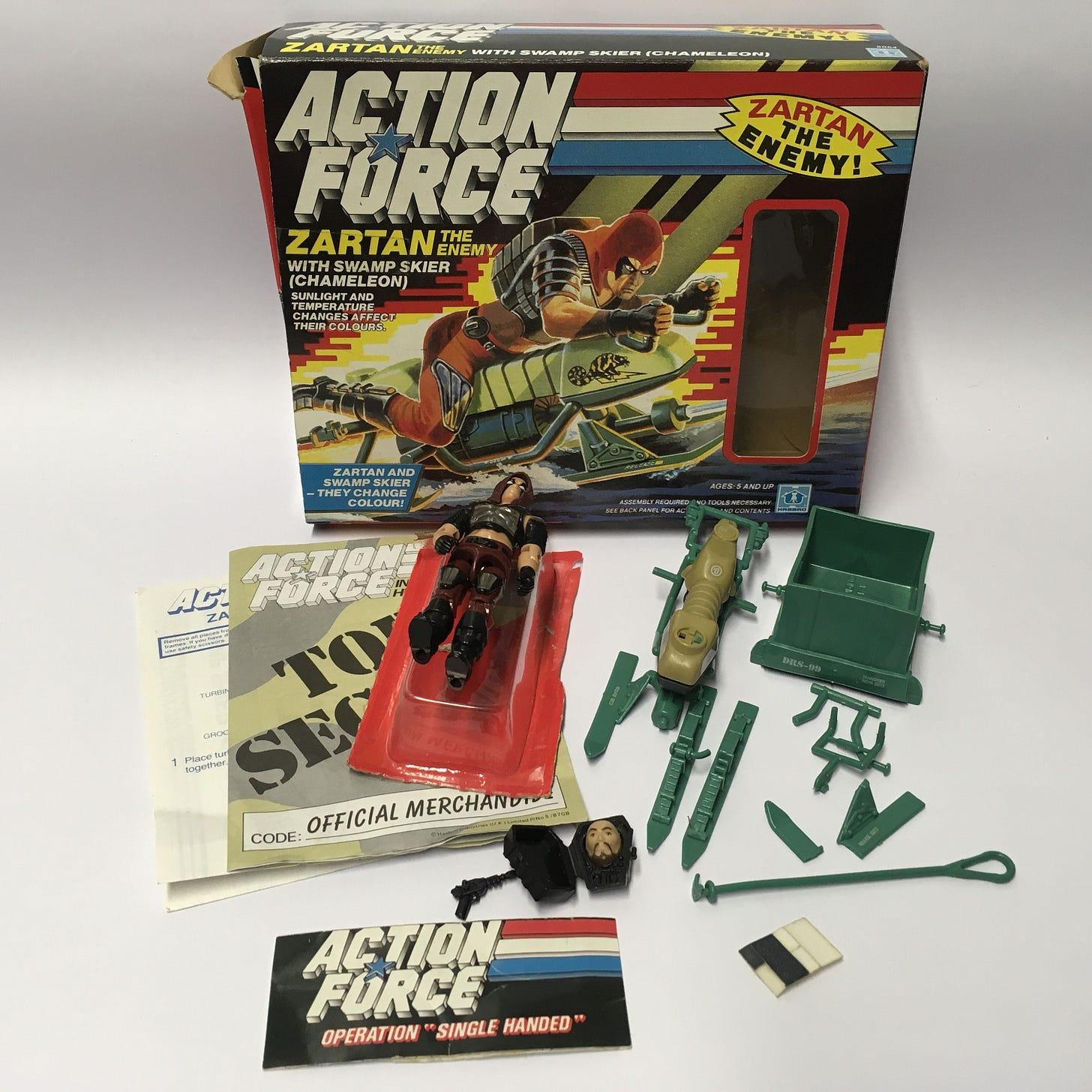 Pin de Millions of Toys en Vintage Action Force GI Joe Toys And Figures