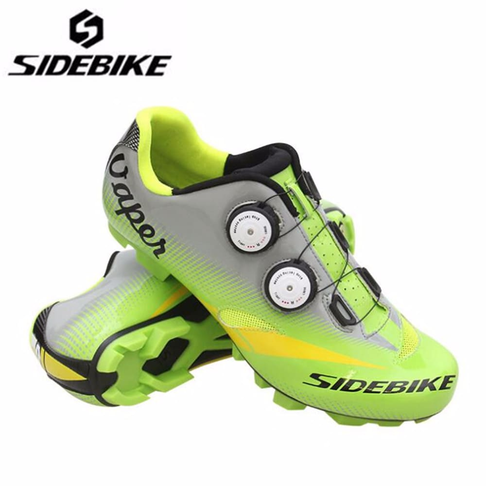 SIDEBIKE Cycling Shoes add pedal set lock sapatilha ciclismo mtb Men sneakers Bicycle mountain Bike Athletic Riding Equipment