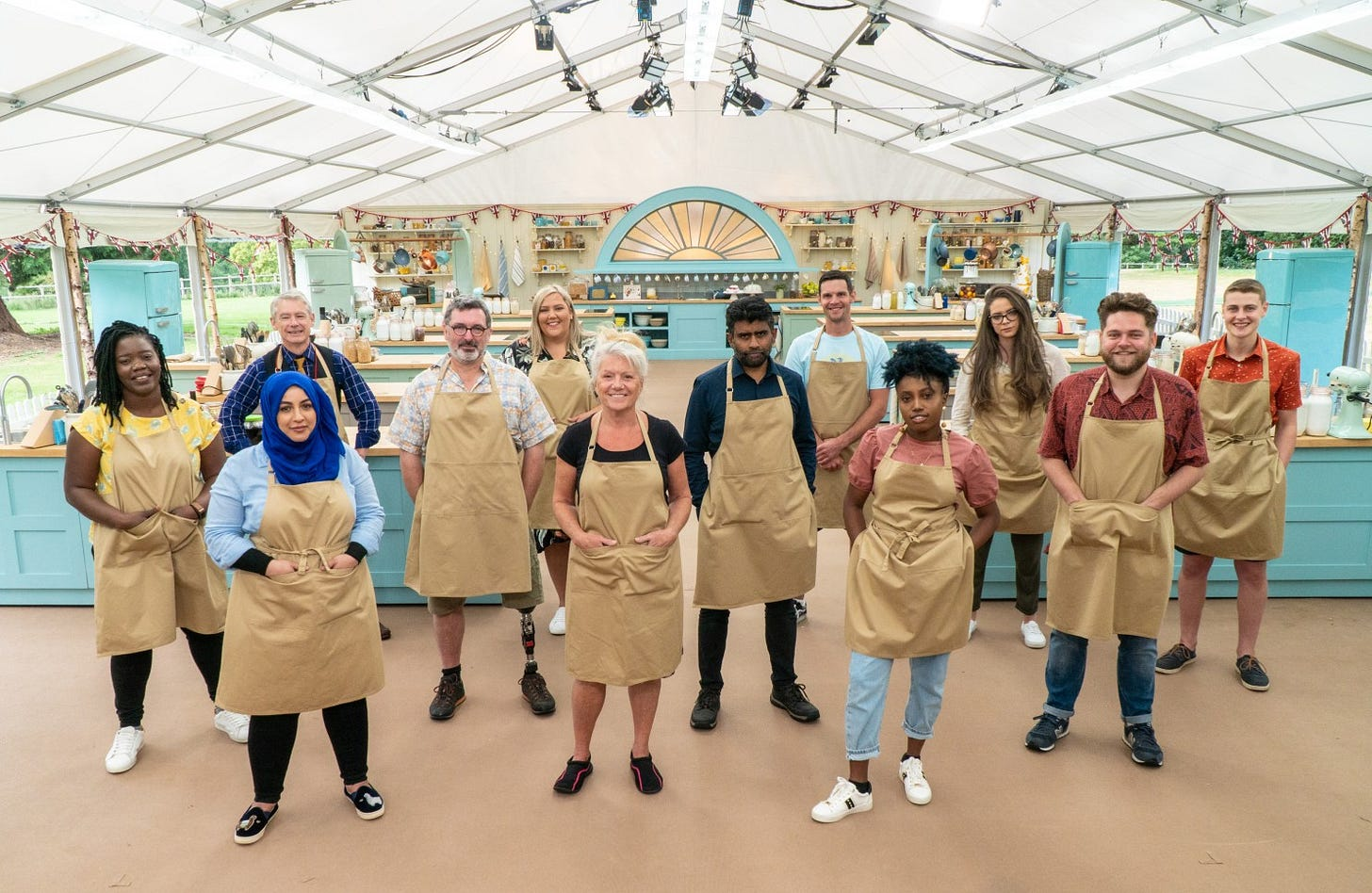 Great British Baking Show' 2020 is COVID-free comfort food - Los Angeles  Times
