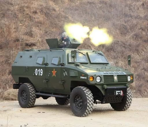 """China Tiger"""" armored personnel carrier-Shaanxi baoji special ..."""