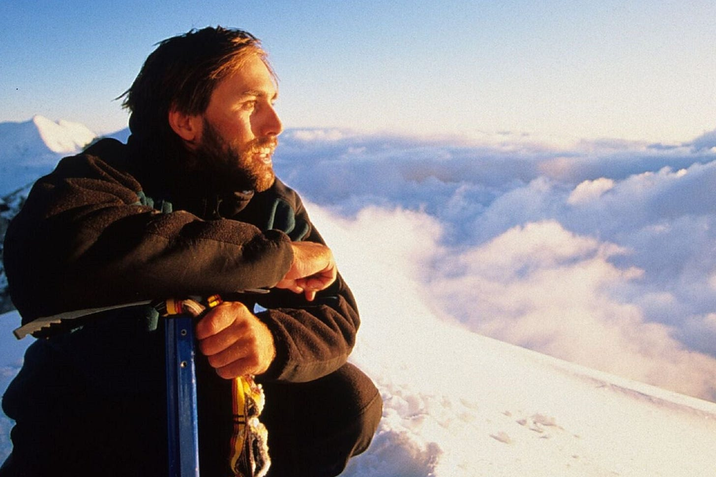 """Overcoming Adversity: Erik Weihenmayer On """"Quitters, Campers, And Climbers"""""""