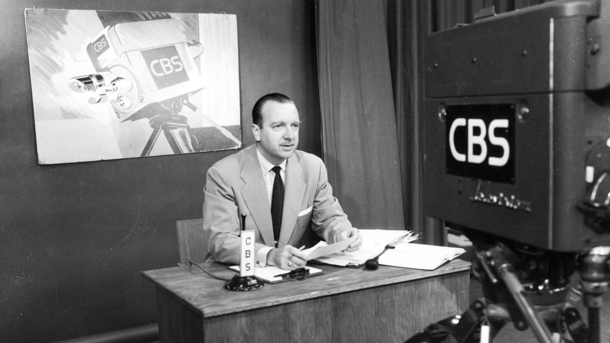 Walter Cronkite - Sign Off, CBS & Career - Biography