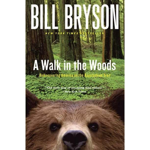 bill bryson walk in the woods book cover