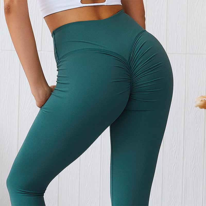 1958328811 Europe And The United States New Peach Fitness Pants Jin Imitation Cotton Yoga Pants Sports Leggings Tight Fitness Pants Sports Entertainment Sportswear Accessories