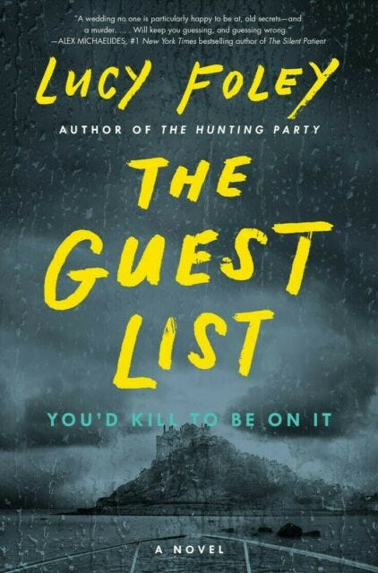 Cover of the book 'The Guest List' by Lucy Foley