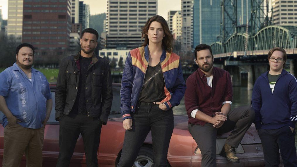 First Look: The 'Stumptown' Cast Is Ready to Take on Criminals ...