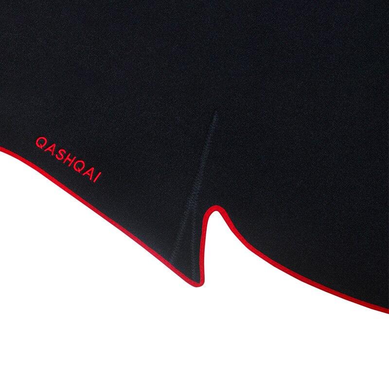 Car dashboard Avoid light pad Instrument platform desk cover Mat Carpets Trim For Nissan Qashqai J11 2015 2016 2017 2018 2019
