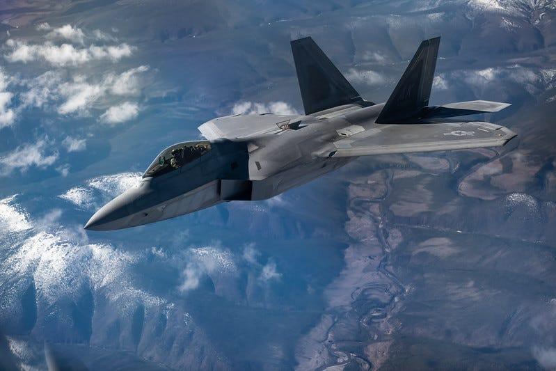 Portrait of an F-22