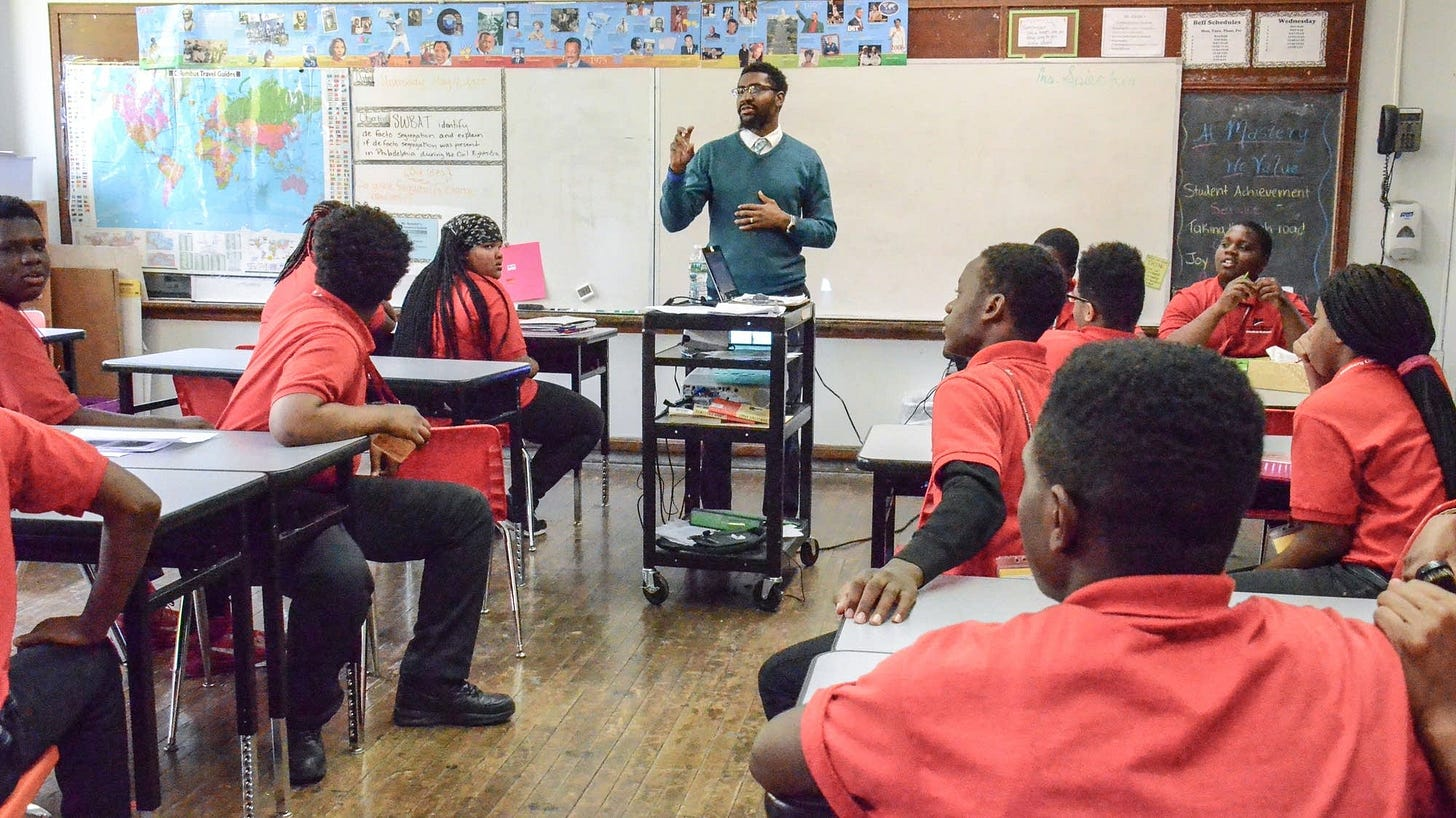 Image result for black teachers in the classroom